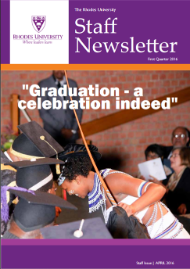 Staff Newsletter cover