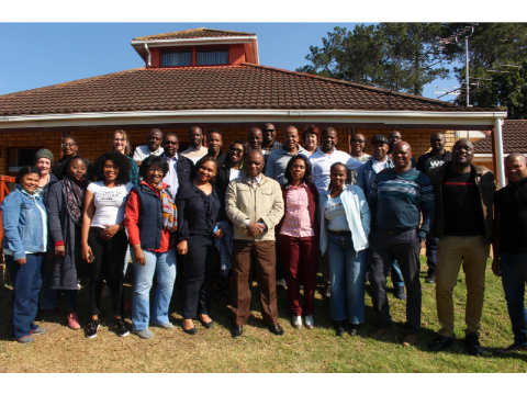 Participants and facilitators from the PGDip (HE)