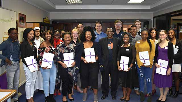 Twenty-eight students receive bursaries from the Old Rhodian Union this year