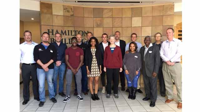 Industry Advisory Board members, Rhodes University student class representatives and Information Sci