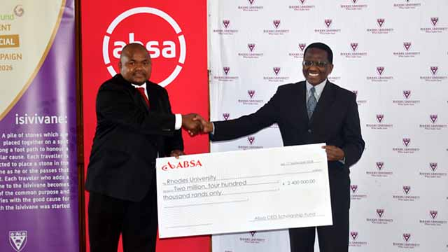 ABSA invests R2.4million in scholarships