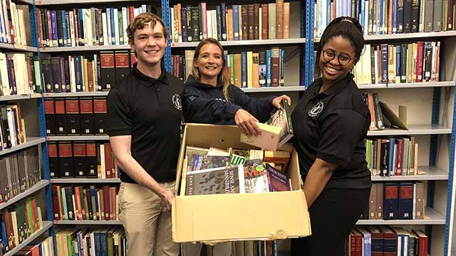 Law Society bolsters literacy with book drive
