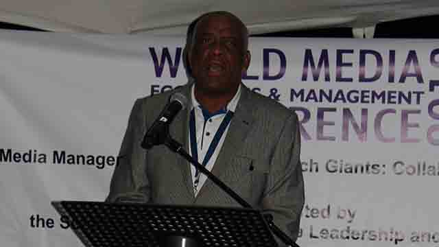 Mr Francis Mdlongwa, Director of the Sol Plaatje Institute for Media Leadership