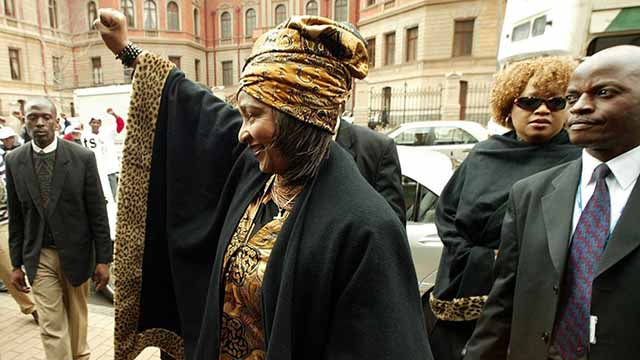Winnie Madikizela achieved a lot before she met Nelson Mandela. Kim Ludbrook/EPA