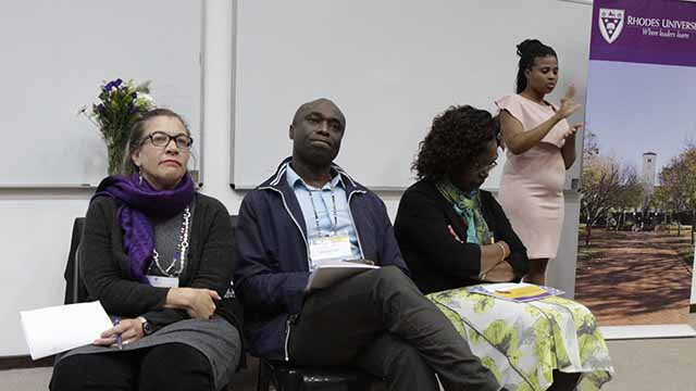 Rhodes University celebrates three African Reproductive Justice Champions