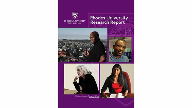 Rhodes research output for 2016 impresses