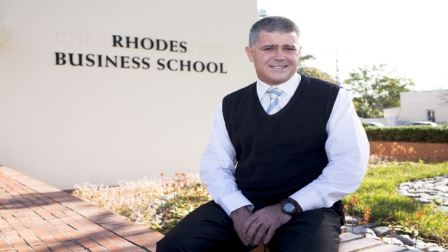 Prof Owen Skae, Director of the Rhodes Business School