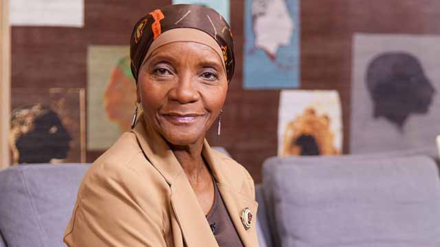 Rhodes confers Honorary Doctorate to Dr Sindiwe Magona
