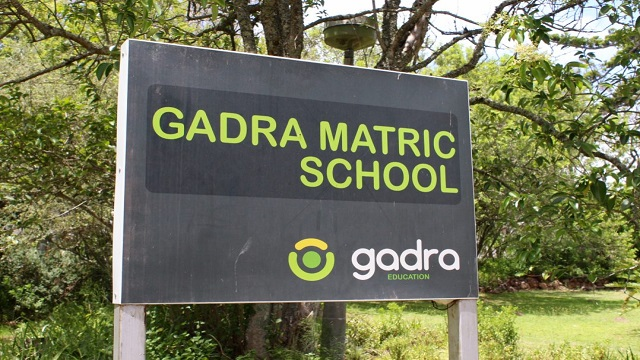 GADRA Matric School Signpost. Source: Grocott's Mail
