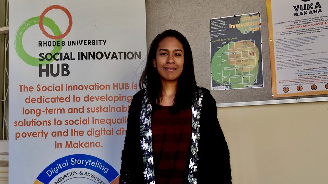 Thandi Matyobeni, Social innovation Hub lab manager
