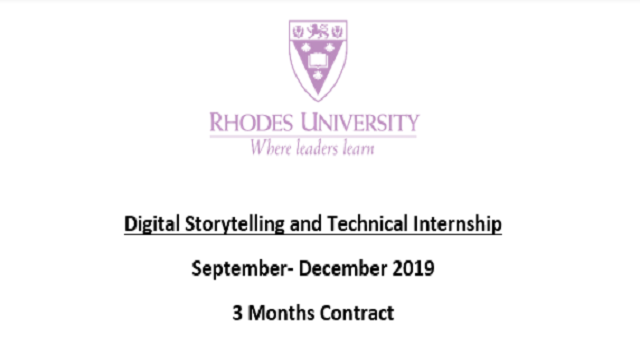 Digital Storytelling and Technical Support