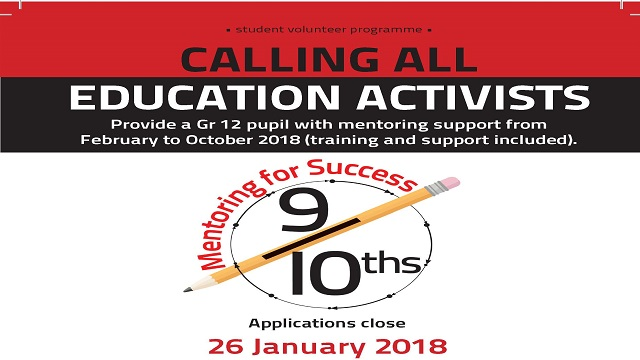 2018 Mentor applications now open