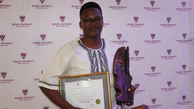 2018 Student Volunteer of the Year - Sesonasipho Yedwa