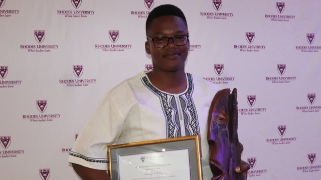 Sesonasipho Yedwa - 2018 Student Volunteer of the Year award winner