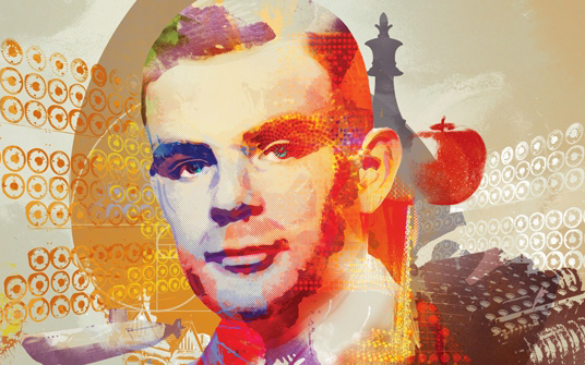 Alan Turing, Computing Machinery and Intelligence code breaker, image: Andy Potts