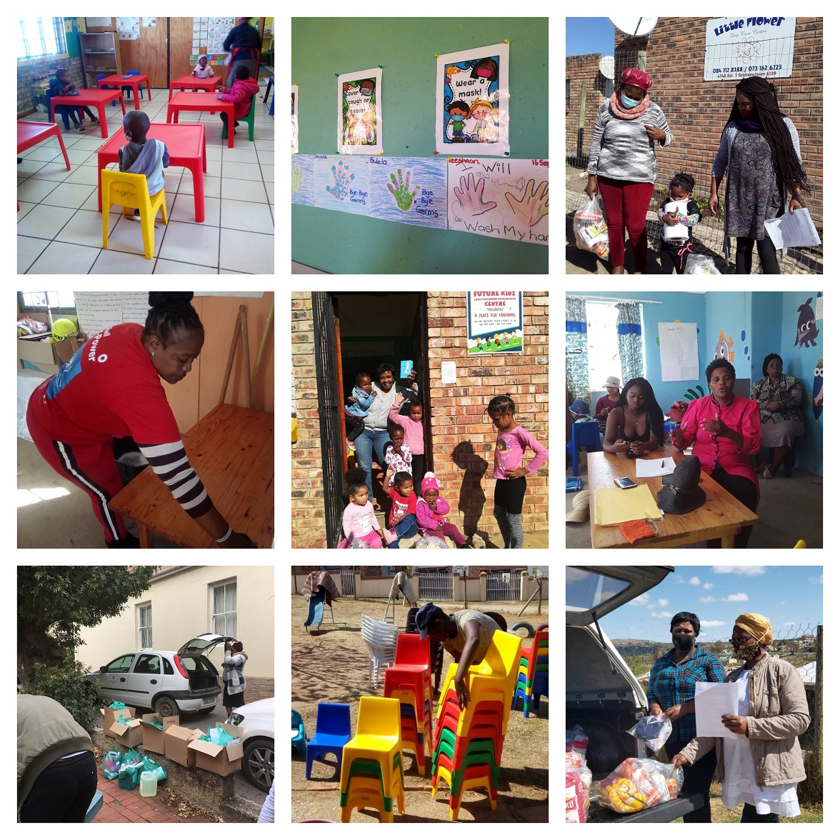 ECD Centers reopen thanks to the collaborative effort of the Makhanda Community