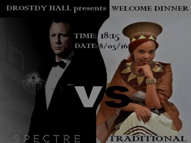 2016 Hall Activities - Welcome Dinner - Poster