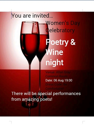 Ag - poetry and wine evening