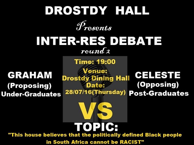Activities - Hall Debate - 2nd round poster