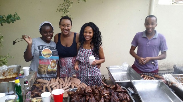 AG Braai with College 1