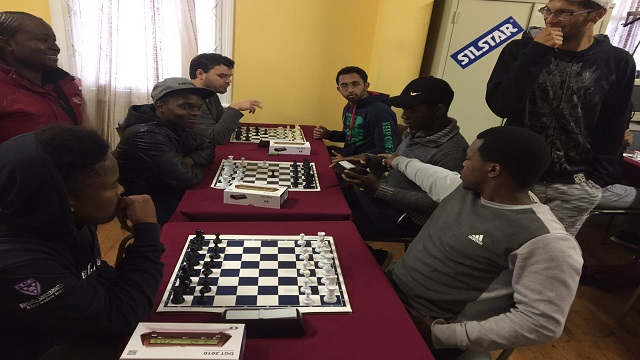 Graham at Inter-Res Chess