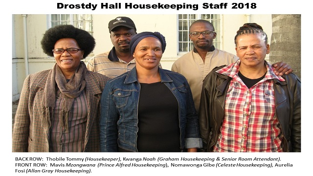 Housekeeping Staff 2018