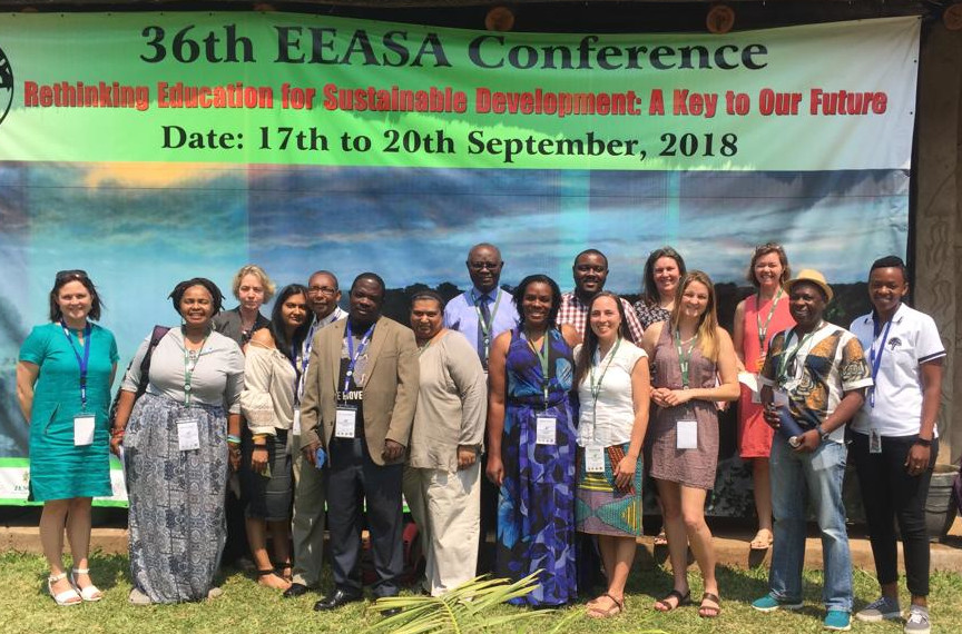 Rhodes University ELRC representatives at EEASA 2018