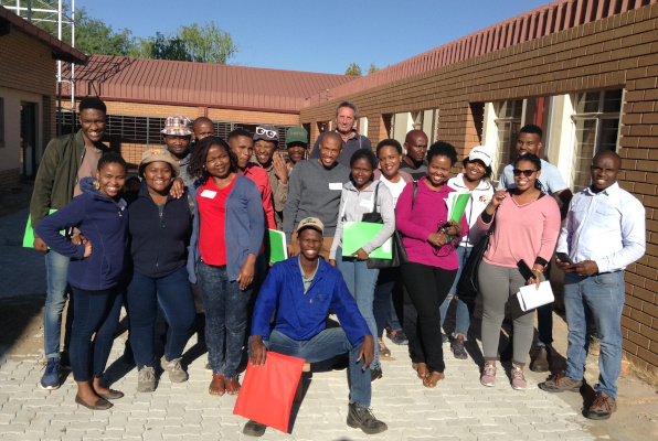 Taung delegates attending the Training of Trainers course