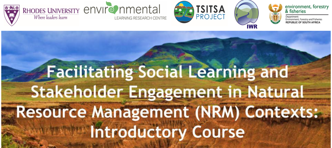 Facilitating Social Learning & Stakeholder Engagement in the context of NRM Online Course