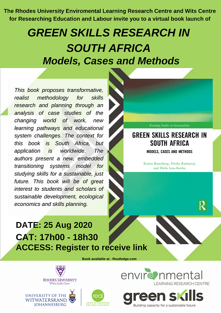 Book launch: Green Skills Research in South Africa