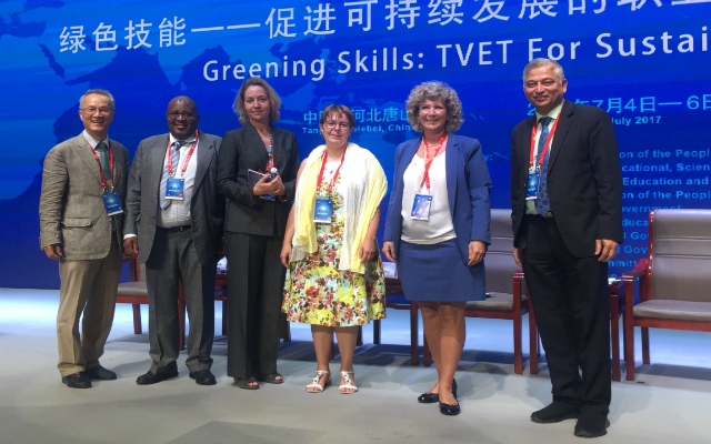 TVET for Green Skills - UNESCO conference in China