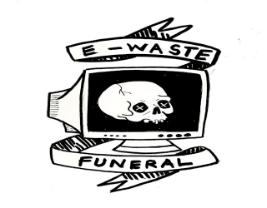E-waste Funeral at Rhodes University