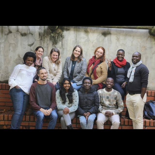 The members of the Urban Connections in African Popular Imaginaries Research Group for 2018