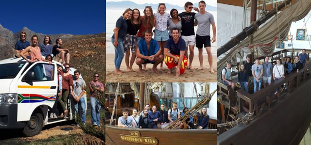 Honours GIS Excursion to Cape Town