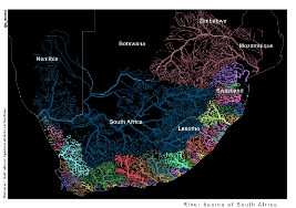 Map of South Africa's Rivers