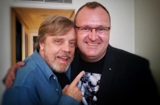 Mark Hamill and Evert Lombaert