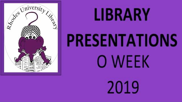 Library Orientation Presentations