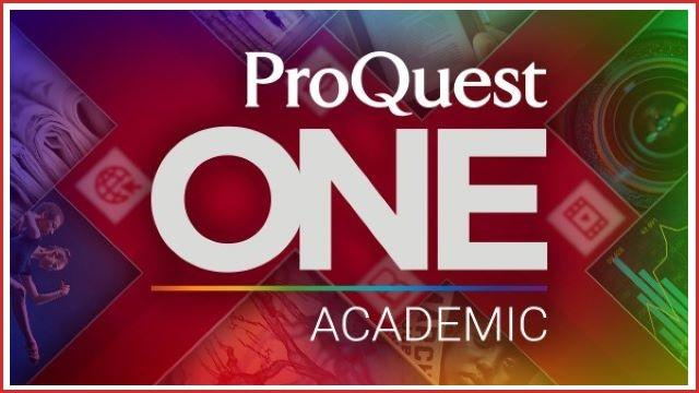 ProQuest One Academic
