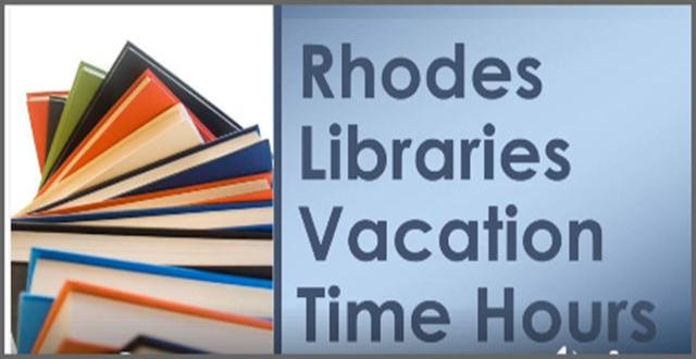 Library Vacation Time Hours
