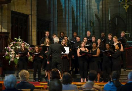 RUCC performs at St George's Cathedral, Cape Town, on Wednesday, 12 September 2012.
