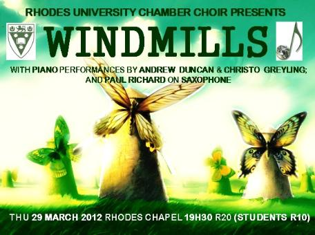 Rhodes University Chamber Choir - First Concert 2012