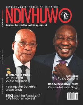 4th Edition: Ndivhuwo: Journal for Intellectual Engagement