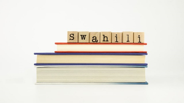 Swahili is one of East Africa's largest languages.