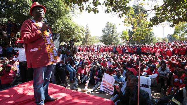 Morgan Tsvangirai built the Movement for Democratic Change into a formidable party and credible cont