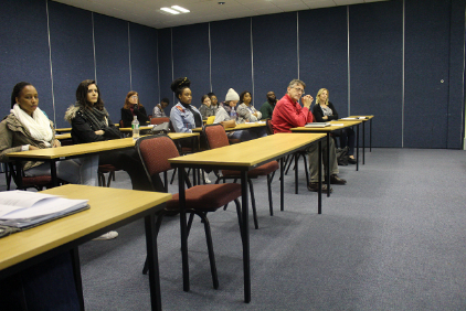 Psychology Honours students present during Disability Week