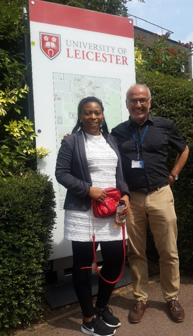 Ms Carol Dineo Diale and Prof Panos Vostanis (University of Leicester. Department of Neuroscience, P