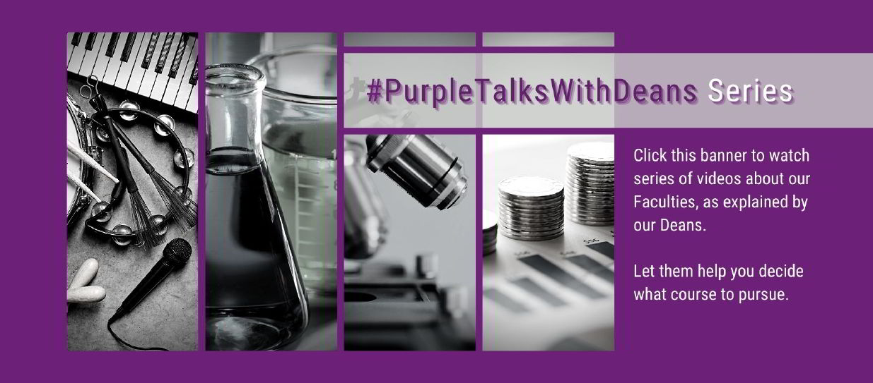 Purple talks with Deans