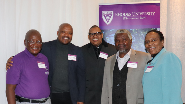 Old Rhodians at their Homecoming Reunion