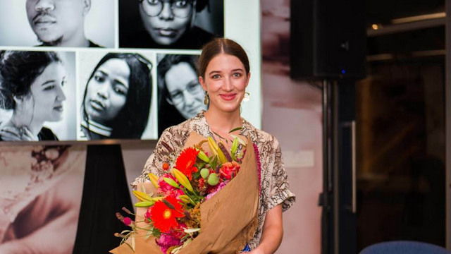 MULTI-TALENTED: Actress Amy Louise Wilson is the 2020 Distell National Playwright Competition winner Image: SUPPLIED
