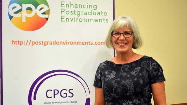 Professor Sioux McKenna, Director of the CPGS